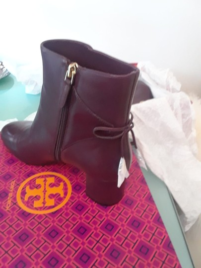 Tory Burch Burgundy Boots