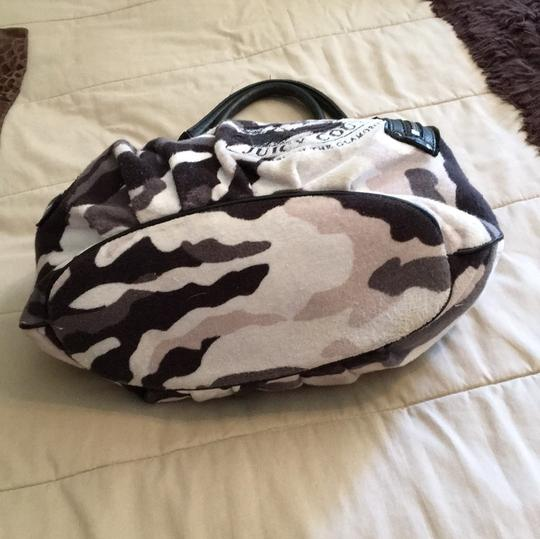 Juicy Couture Satchel in grey and black