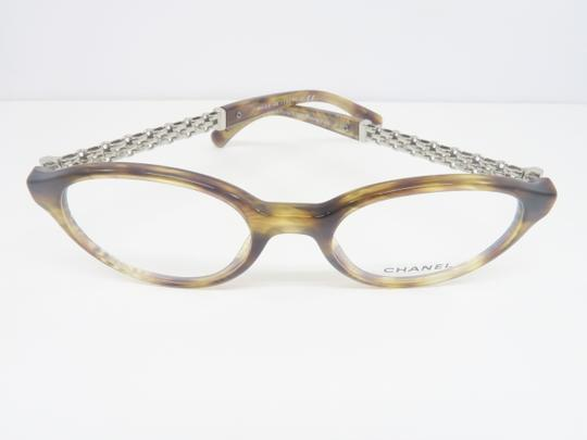 Chanel Round Silver Chain Women's Rx Eyeglasses 3319 C.1525