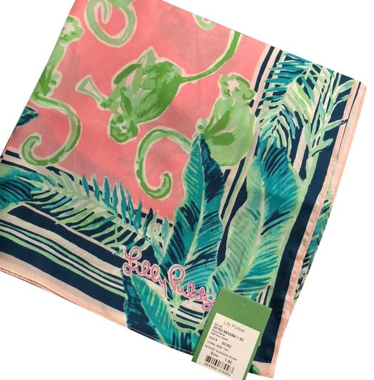 Preload https://img-static.tradesy.com/item/24157942/lilly-pulitzer-coral-reef-monkey-business-silk-scarfwrap-0-1-540-540.jpg