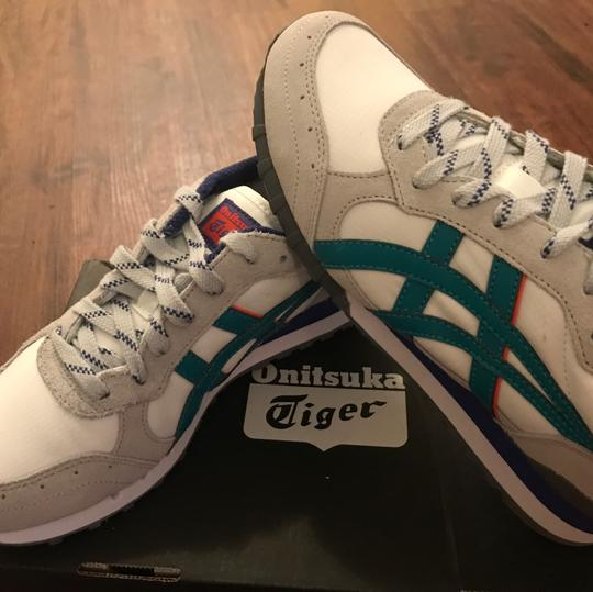 Onitsuka Tiger gray aqua Athletic