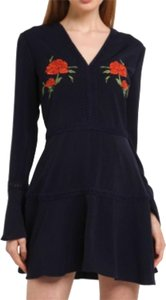 Finders Keepers short dress Navy on Tradesy