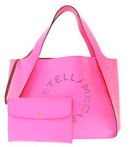 Stella McCartney Faux Tote in Pink
