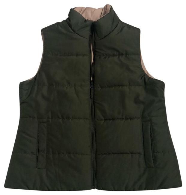 Preload https://img-static.tradesy.com/item/24157984/olive-green-and-gold-tan-green-vest-size-16-xl-plus-0x-0-1-650-650.jpg