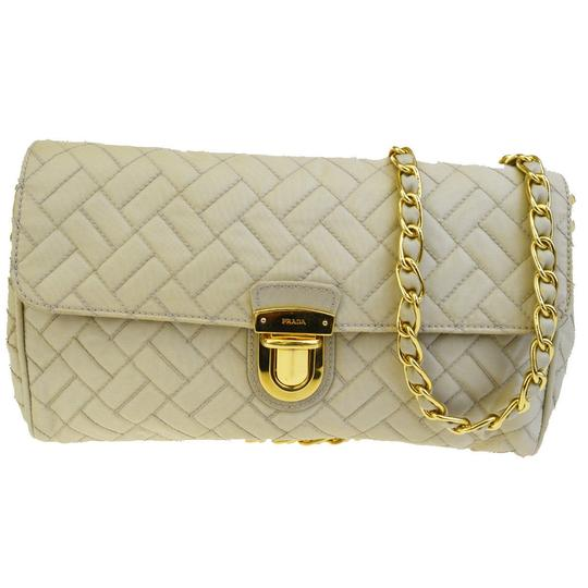 Preload https://img-static.tradesy.com/item/24157991/prada-quilted-beige-canvas-shoulder-bag-0-0-540-540.jpg