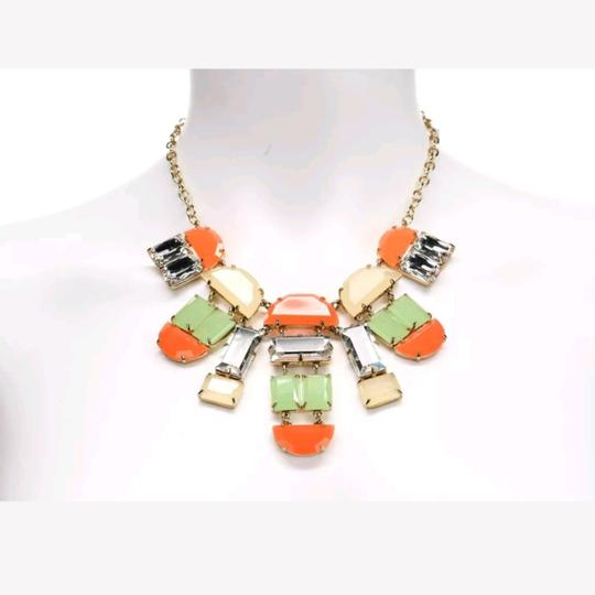 Kate Spade Kate Spade Multicolor Varadero Tile Crystal Necklace