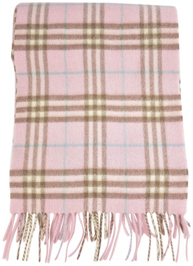 Preload https://img-static.tradesy.com/item/24157999/burberry-pale-pink-nova-check-cashmere-ns-long-scarfwrap-0-1-540-540.jpg