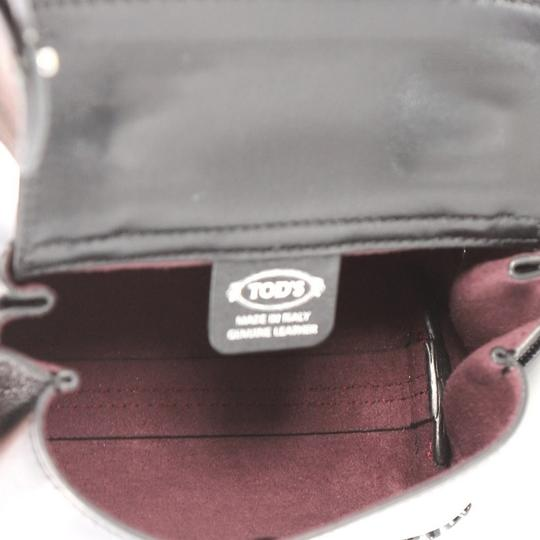 Tod's Leather Satchel in black