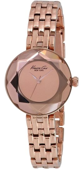 Preload https://img-static.tradesy.com/item/24158019/kenneth-cole-rose-gold-kc0010-women-s-steel-bracelet-with-analog-watch-0-1-540-540.jpg