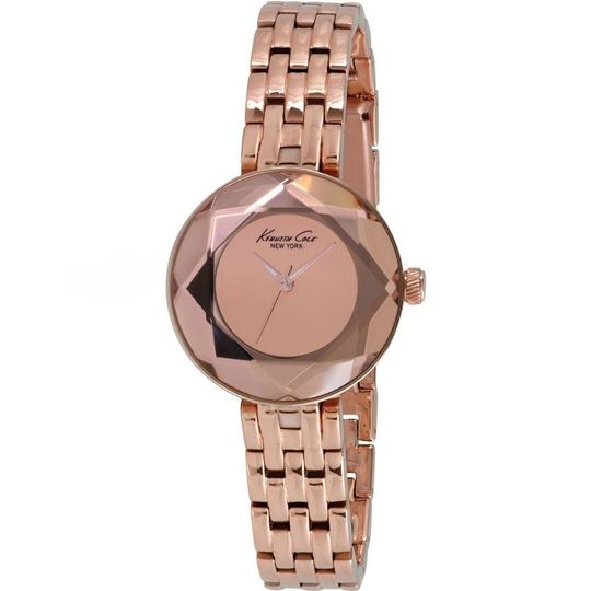 Kenneth Cole KC0010 Women's Rose Gold Steel Bracelet With Rose Gold Analog Watch