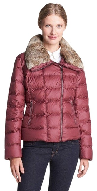 Preload https://img-static.tradesy.com/item/24158025/tumi-burgundy-stockholm-down-puffer-jacket-with-rabbit-collar-l-euro-40-coat-size-10-m-0-1-650-650.jpg