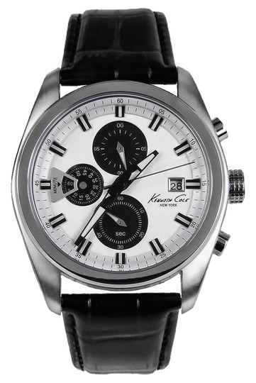 Preload https://img-static.tradesy.com/item/24158115/kenneth-cole-black-kc8041-men-s-leather-band-with-white-analog-dial-watch-0-1-540-540.jpg