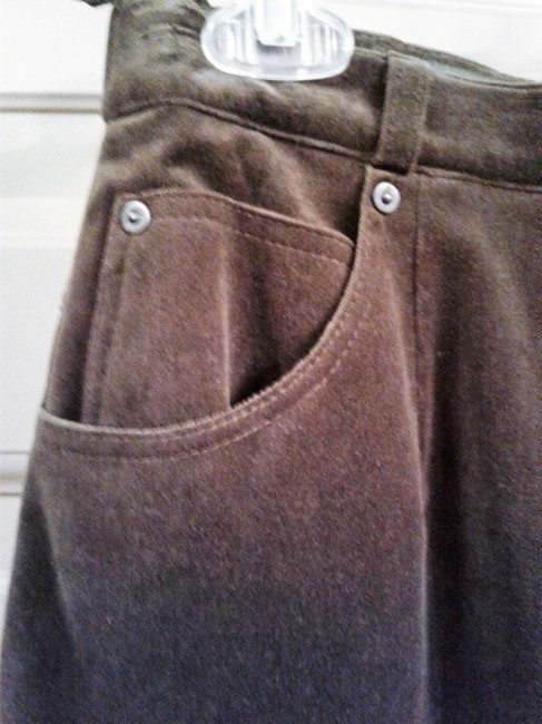 Basler Strait Fully Lined Many Pockets 95% Cotton Made In Portugal Skirt khaki