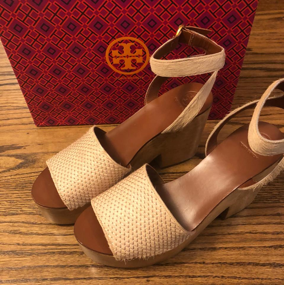 45716870089 Tory Burch Savannah Camilla 100 Mm Sandals Platforms Size US 9.5 ...
