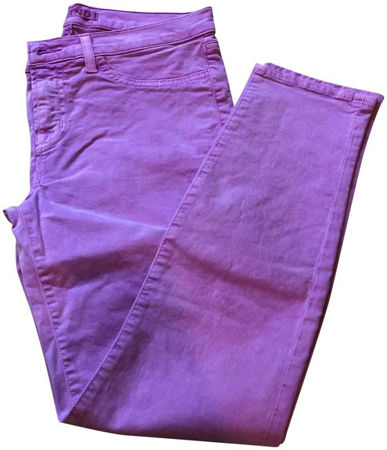 Item - Neon Purple Medium Wash Mid-rise Skinny Jeans Size 29 (6, M)