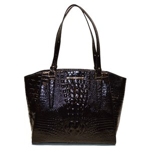 Brahmin Crocodile Paris Tote in Black Melbourne
