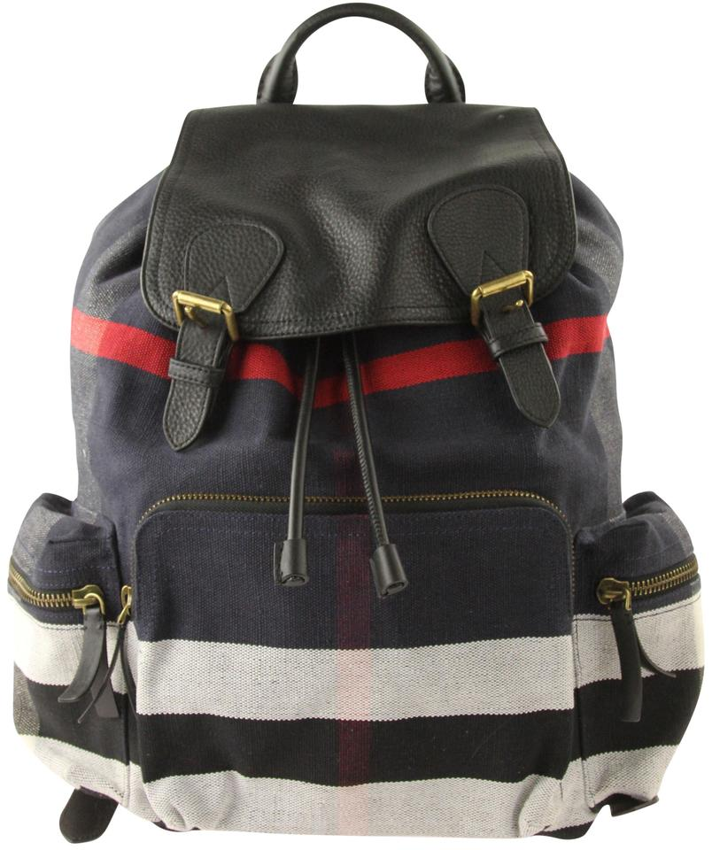 4b231a0af96d Burberry Rucksack Check Multicolor Canvas Backpack - Tradesy