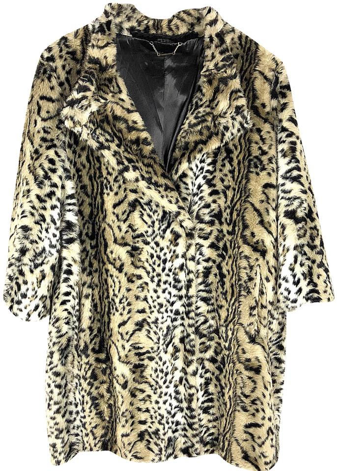 ae1f9a8056e Pamela McCoy Animal Print Jacket Coat Size 20 (Plus 1x) - Tradesy