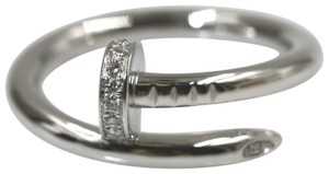 Cartier JUSTE UN CLOU RING WHITE GOLD, DIAMONDS