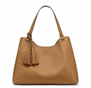 Tory Burch Tote in Bark Brown