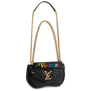 b66e8d5dbfc1 Added to Shopping Bag. Louis Vuitton Cross Body Bag. Louis Vuitton New Wave  Chain Pm Black Calfskin ...
