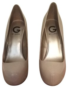 Guess Nude Patent Pumps