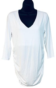 Isabella Oliver Jersey Top White