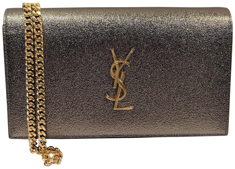 Saint Laurent Monogram Kate Wallet On Chain Chain Wallet