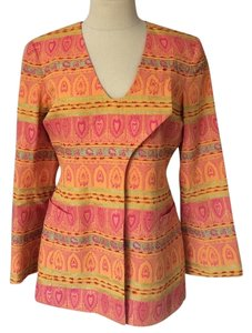 Paula Hian orange multi Jacket