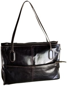 Hobo International Leather Tote in Brown
