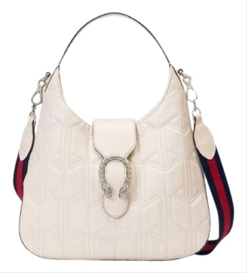 40f8da09599 Gucci Dionysus White Leather Hobo Bag - Tradesy