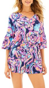 Lilly Pulitzer Tassels Stretchy Floral Dress