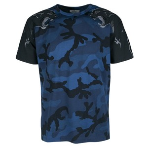 Valentino T Shirt Blue