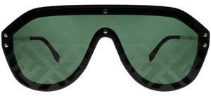 Fendi NEW Fendi M0039/G/S Fabulous FF Logo Mirrored Shield Sunglasses