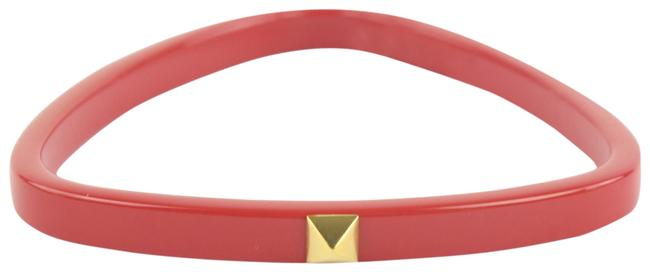 Hermès Red And Gold Idylle Triangle Bangle 9001zh04 Bracelet Hermès Red And Gold Idylle Triangle Bangle 9001zh04 Bracelet Image 1
