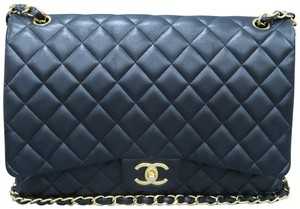 Chanel Classic Flap Leather Cross Body Bag
