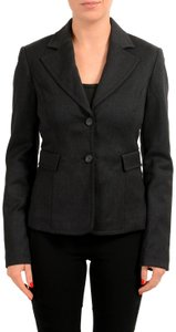 CoSTUME NATIONAL Faded Black Blazer