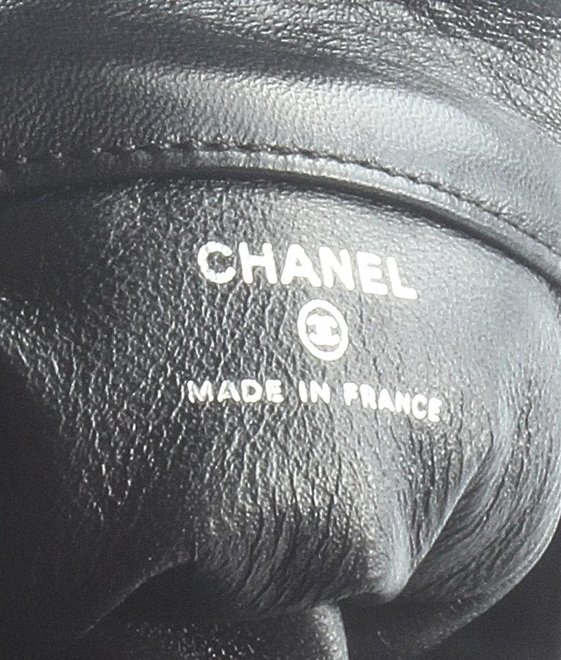 92b7c72fac5e64 Chanel 2.55 Reissue Quilted Ankle Wrist (159261) Black Xleather ...