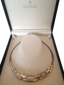 Brooks Brothers Silver plated choker
