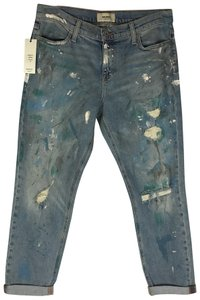 Baldwin Denim Boyfriend Cut Jeans-Distressed