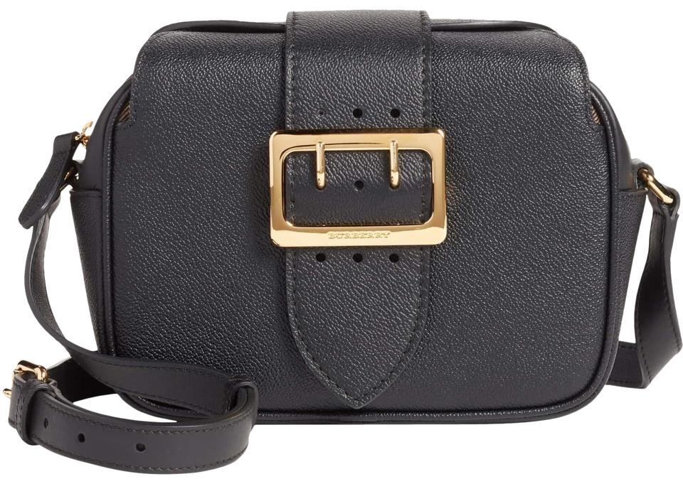 bc379a1c0bc8 Burberry Small Buckle Black Leather Cross Body Bag - Tradesy