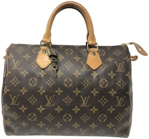 Louis Vuitton Speedy Speedy 30 Speedy Satchel in Monogram