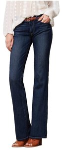 Paige Premium Denim Boot Cut Jeans-Dark Rinse