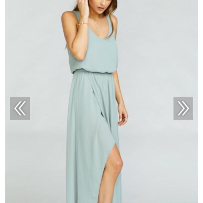 Item - Silver Sage Kendall Casual Bridesmaid/Mob Dress Size 8 (M)