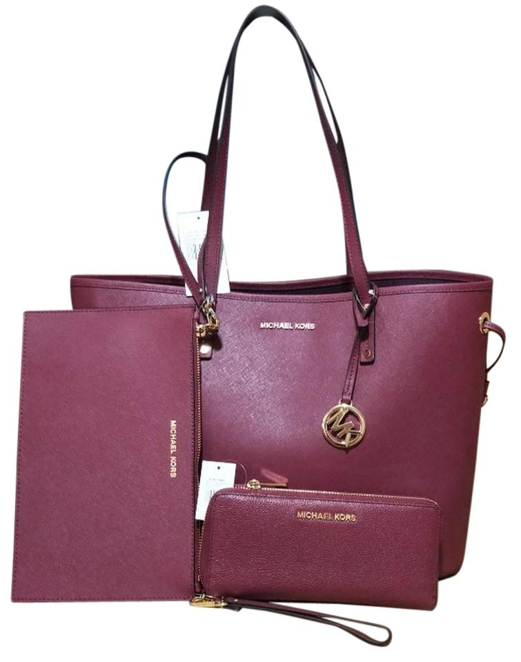 83326394af16e ... best price michael kors tote in red 8357d 20dc8