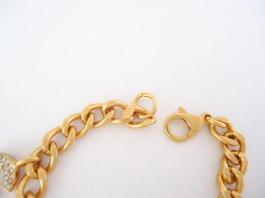 Chanel Chanel CC logo crystal double sided chain bracelet