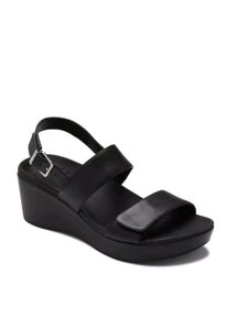 Vionic Slingback Wedge Orthaheel Sellingcrazy Black Sandals