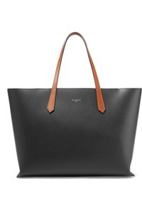 Givenchy Shopper Leather Leather Tote in Black