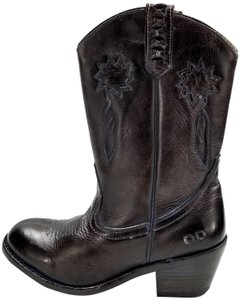 Bed|Stü Cowgirl Vintage Look Western Made In Mexico Brown Rustic Boots