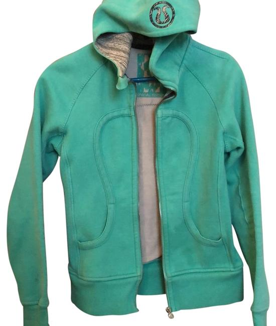 Item - Teal Scuba Special Edition Hoodie Activewear Size 4 (S)